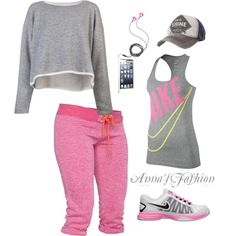 super cute! I could live in gym clothes!