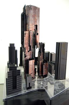 Avoiding Figuration, Jacques Lesec, Sean Markle, SCI-Arc, Manhattan, Manhattan skyline, iconographic volumes, landmark architecture, cityscape