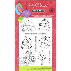 "Hero Arts Clear Stamps ""Color Layering Fall Trees"" {Sandy Allnock does a great video with this stamp}"