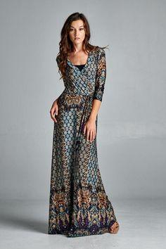 Dahlia Maxi Dress