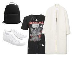 """Untitled #7"" by fodornikolett on Polyvore featuring Topshop, MANGO and adidas Originals"