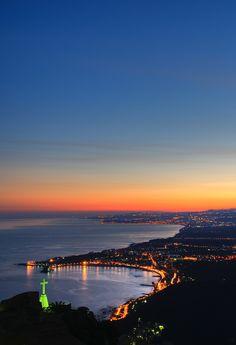 Giardini Naxos bay at sunset - Sicily | Flickr - Photo Sharing!