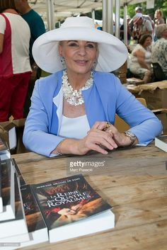 Princess Michael of Kent  attends the 2Oth 'La Foret des Livres' book fair on August 30, 2015 in Chanceaux-pres-Loches, France.  (Photo by Marc Piasecki/Getty Images)