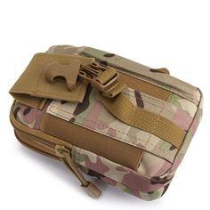 BAJ Outdoor Tactical Sport Multi-functional Waist Belt Pouch Wallet Storage Bag For Smartphone Sale - Banggood.com