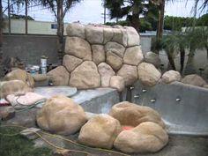 HomeBuilt DIY Concrete Block Swimming Pool   YouTube