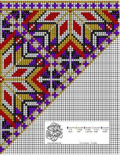 Perlesøm på stramei, bunad. – Vevstua Bull-Sveen Betta, Beaded Earrings, Cross Stitch Patterns, Embroidery, Purple, Crochet, Beadwork, Beading, Crafts