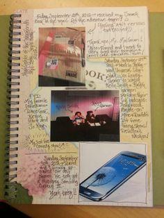 1st Smash Book Page - Scrapbook.com