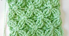 puntos fantasia a crochet # 11