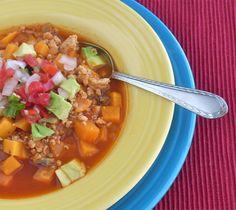 Chicken Sweet Potato & Mushroom Chili and more of the best Paleo chili recipes on MyNaturalFamiliy.com #paleo #chili