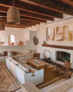 34 Beautiful Living Room Ideas With Neutral Colors - SearcHomee Interior Design Living Room, Living Room Designs, Bohemian Interior Design, Beautiful Interior Design, Spanish Interior, Spanish Style Interiors, Style At Home, Beautiful Living Rooms, Fashion Room