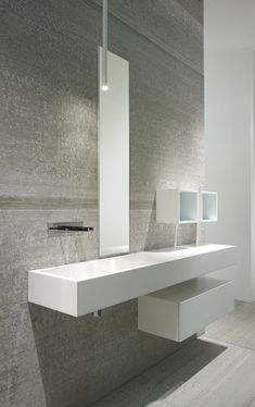 Wall, bathroom by Casabath