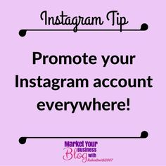 Instagram Tip: Promote your Instagram account everywhere! This one is also somewhat self-explanatory but you need to leverage this channel in the same way you do your other social networks.  For example do you have social icons on your homepage or product pages connecting visitors to your social channels? An Instagram icon needs to be added as well.  When setting up your account you should first be connecting with Facebook to pull in your friends but this is just the start of promoting your…