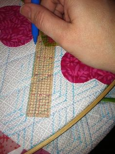 Quilt Marking for hand quilting