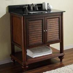 British colonial colonial and tropical on pinterest for Avanity tropica 25 bathroom vanity