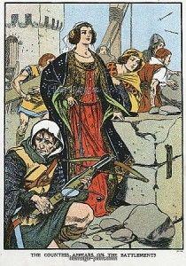 Agnes, Countess of Dunbar (1312'-1369), known as Black Agnes, 1338