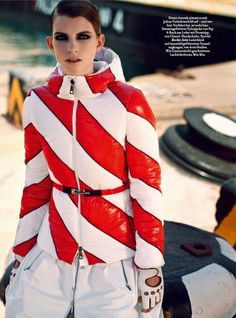 That Works: Luca Gadjus By Serge Leblon For Harper's Bazaar Germany September 2014 - Fay