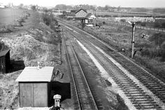 Linby Colliery sidings Steam Railway, Industrial Revolution, Local History, Steam Locomotive, Derbyshire, Nottingham, Historical Photos, Railroad Tracks, Boxes
