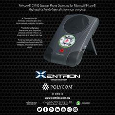 Teléfono Speaker Polycom optimizado para Microsoft ideal para las Juntas de la Empresa de venta en Xentrion S.A. de C.V.   #FelizLunes   Contáctanos info@xentrion.com.mx • 01 [55] 5662 6377  WhatsApp: [55] 1536 3103  Visítanos en nuestra Tienda Ubicada en: Insurgentes Sur 1768 P.B. • Col. Florida • Cp. 01030 • Del. Alvaro Obregón • Ciudad de México  www.xentrion.com.mx