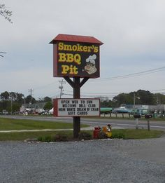 Smokers BBQ Pit, West Ocean City  Now open for the 2015 season!