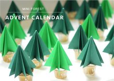 """DIY Christmas advent calendar"""