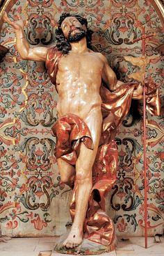 Cristo resucitado Juan de Juni, Catedral de Burgos.