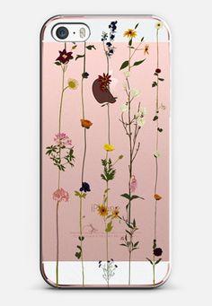 Floral iPhone SE case by Vicky Webb | Casetify