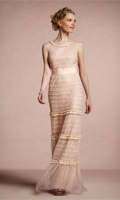 Glamorous Organza Sheath Straps Long/Floor-length Bridesmaid Dresses FSAU1409P916888 - formalsydney.com