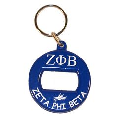 Zeta Phi Beta Sorority Bottle Opener Keychain $4.99 #ZetaPhiBeta #Greek #sorority #Zeta #accessories #accessory #bottleopener #keychain