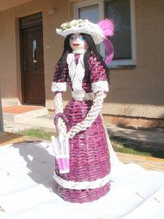Moja prvá dáma, Papierové pletenie | Artmama.sk