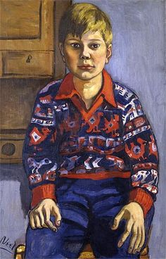 Alice Neel (1900 — 1984) was an American artist known for her oil on canvas…
