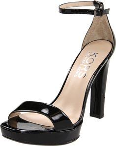 KORS Michael Kors Women's Ysabell Platform Sandal in black $250
