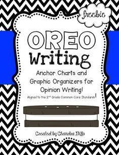 This is a great resource to help with Opinion Writing in your classroom! It goes along perfectly with the Second Grade Common Core standard for opinion writing!This unit includes-standard page-anchor charts for each letter-graphic organizers for opinion writing-graphic organizers for Tasty Topic Sentences and Cookie Concluding Sentences-writing paper for reviews/opinion writingFor more information about how I used this product in my classroom, check out my blog!Also, make sure to check out…