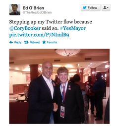 With Ed O'Brien - Cory Booker