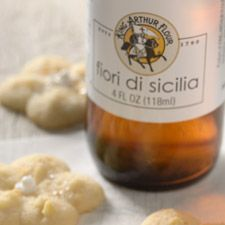 Fiori di Sicilia!!  You know that perfect vanilla citrus-y flavor in Italian pastries?  THIS IS IT!  And oh my, the uses are endless...pancakes, a few drops in brownies, with ricotta or mascarpone for any filling.