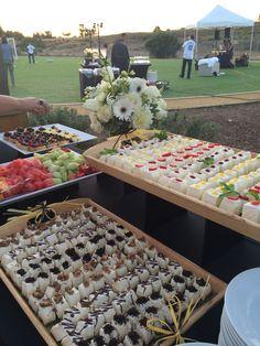 Assortment of flavors! Namesake cheesecake, Menlo park ca Layer Cheesecake, Cheesecake Bites, Menlo Park, Dessert Bars, Table Decorations, Board, Desserts, House Decorations, Tailgate Desserts