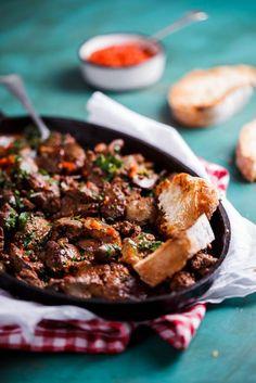 Peri-peri chicken livers - Simply Delicious