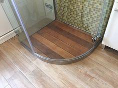 Bambù piatto doccia vasca da bagno in legno vasca caddy caddy