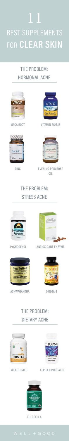 Supplements to take for clear skin. http://beautifulclearskin.net/category/clear-skin-tips/