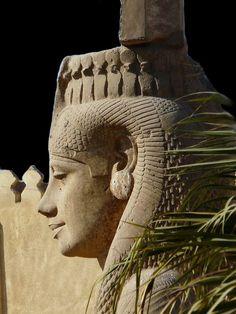 Colossal Meritamen statue ~ Akhmim ~ Egypt