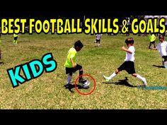 Best Football Skills & Goals ● Kids - YouTube