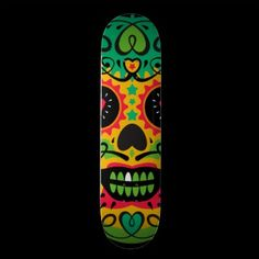 Oxygentees Skull Candy Skateboard Deck $63.50