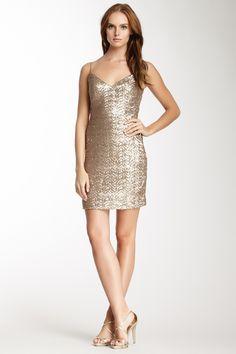 La Femme Sequined Mini Dress by La Femme on @HauteLook
