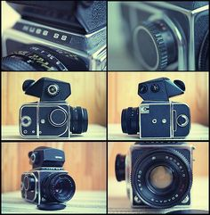 Although it doesn't look like much and its considered vintage (film camera) I have wanted one of these I became interested in vintage cameras. Someday, I hope to pick one up. I'm always hitting flea markets, antique stores, and pawn shops looking these old Russian made cameras.