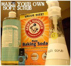 Diy cleaners 169448004699630455 - Easy DIY Soft Scrub Recipe Source by ajasimpson