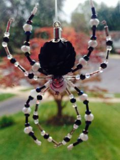 Black and white spider by Luv2dream on Etsy