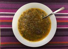 Lentejas rápidas para #Mycook http://www.mycook.es/cocina/receta/lentejas-rapidas