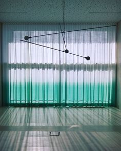 Nuée voilages for MAD museum Brussels. Woven on 5 m height, finished and installed by Verilin. Drapery, Curtains, Craftsman, Garden Tools, Brussels, Interior, Mad, Home Decor, Artisan