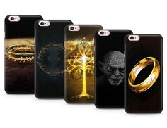 Lord Of The Rings Designs Gel Case Cover For Iphone Phones
