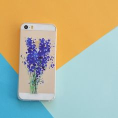 PURPLE LILIES  PHONE CASE
