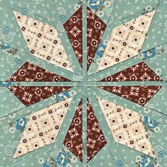 Aran Star - Paper Piecing quilt star pattern, inspired by the traditional Scandinavian Fair Isle star, knitting and travel. Star Quilt Patterns, Star Quilts, Pattern Blocks, Quilt Blocks, Star Blocks, Paper Patterns, Sewing Patterns, Quilting Tutorials, Quilting Projects